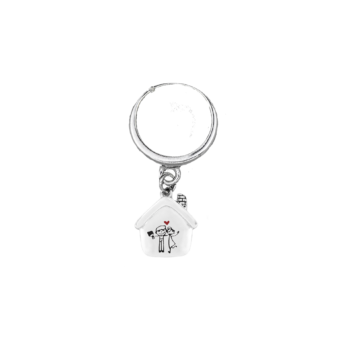 Anello con gambo regolabile in argento 925