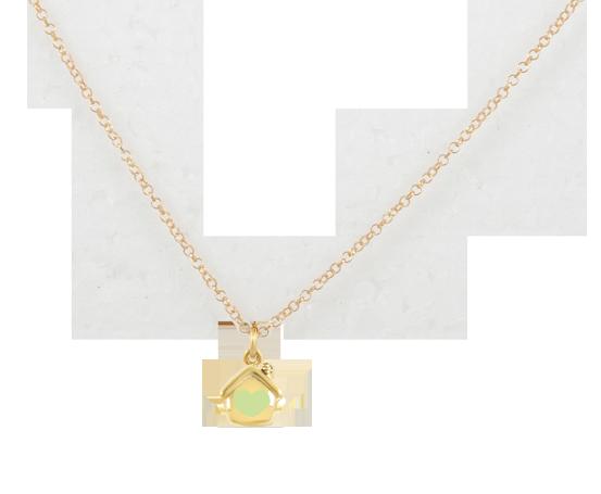 Collana Rolò minimal dorata in argento 925